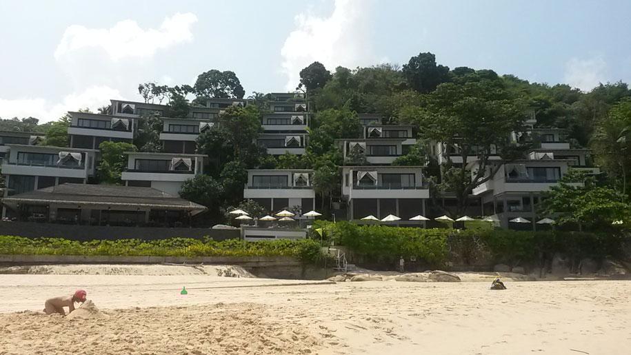 Виллы, курортный отель Shore At Katathani на пляже Ката Ной