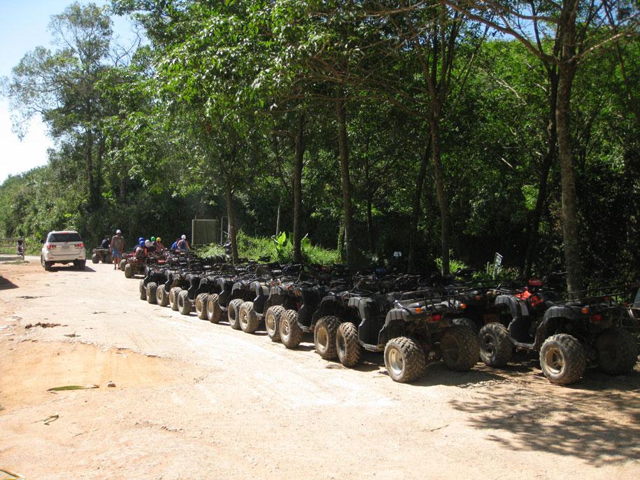 Слоновья ферма Elephant Station, квадроциклы, Пхукет