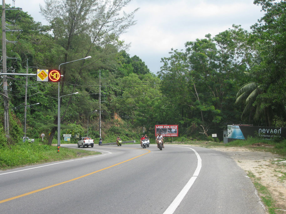 Дорога от Камалы до Лаем Синг