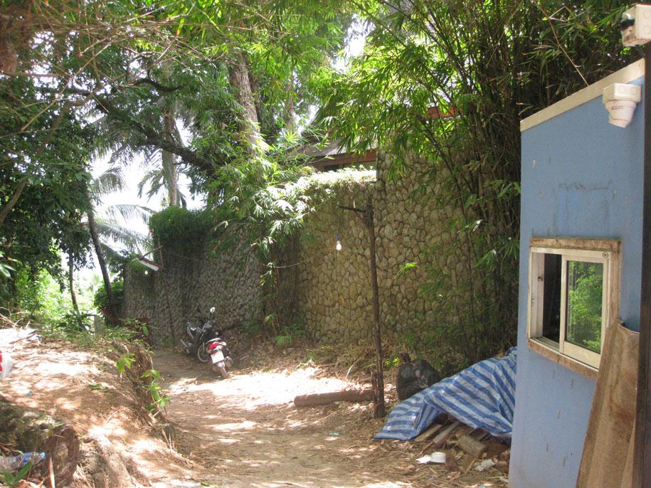 Спуск на Лаем Синг со стороны пляжа Сурин