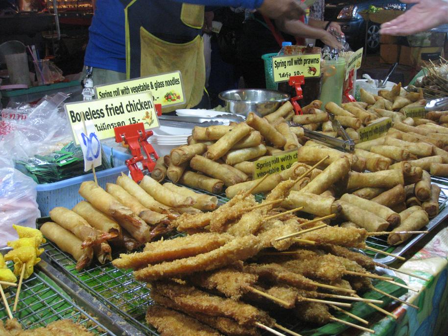 Цены на ночном рынке Карон, Пхукет