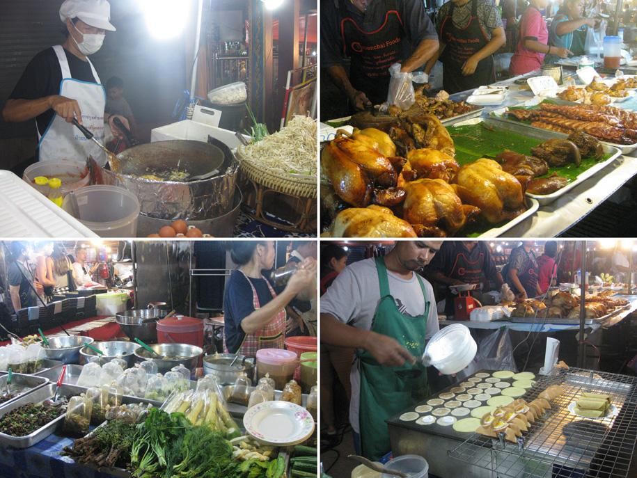Ночной рынок на Кароне, Таиланд