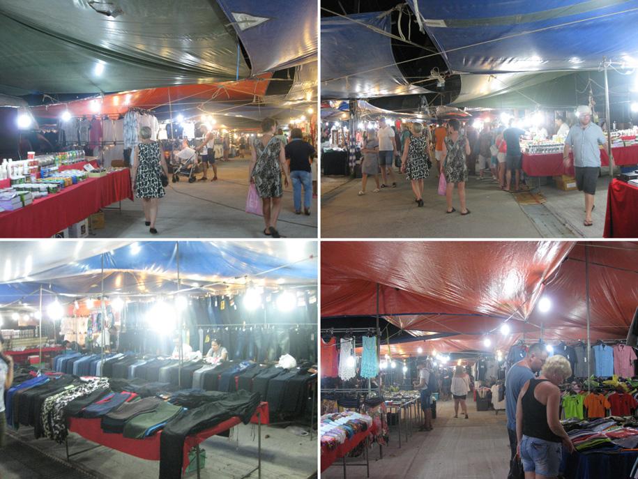Ночной рынок на Кароне