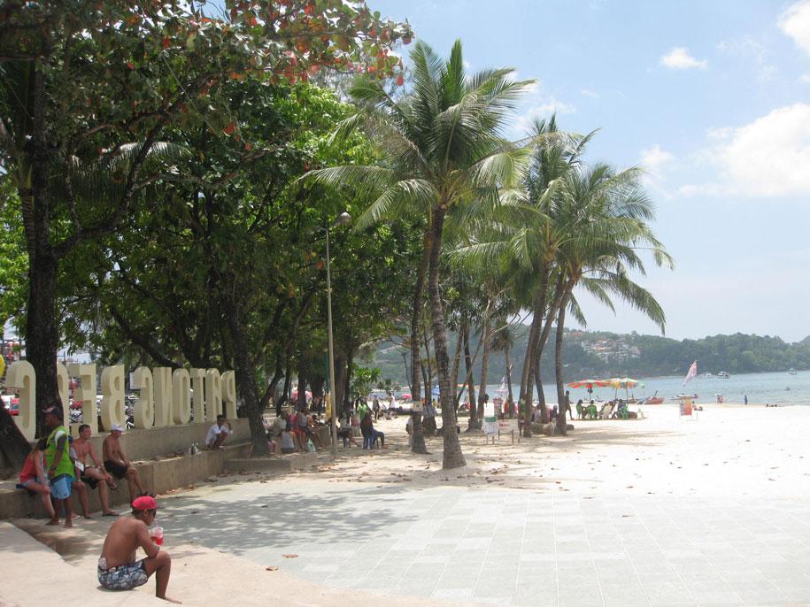 Андаманское море, пляж Патонг, Пхукет