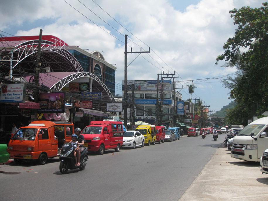 Набережная Патонг, Таиланд