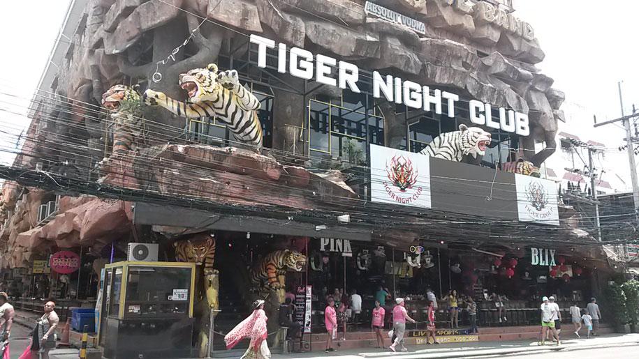 Ночной клуб на улице Бангла Роуд, Патонг