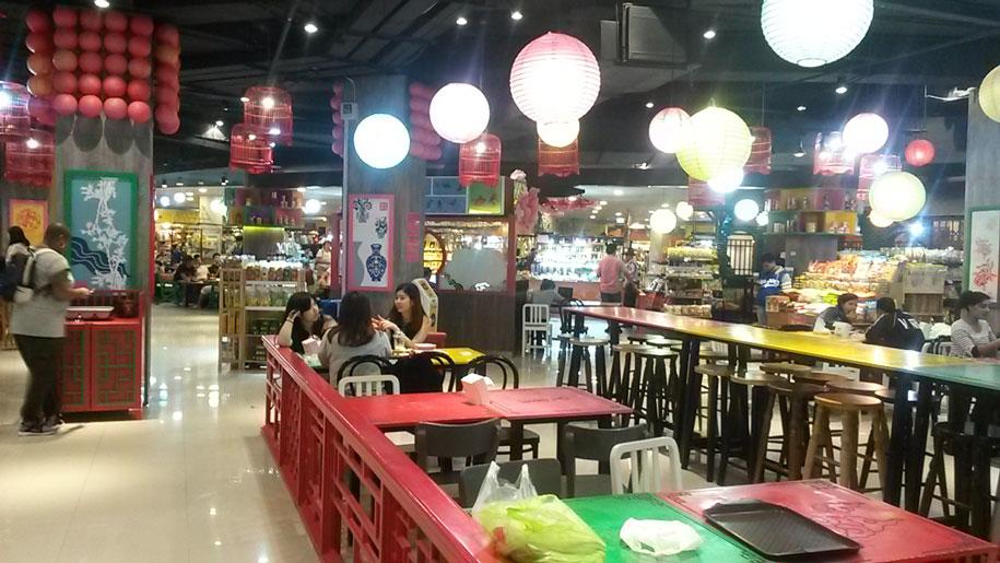 Food Bazaar в торговом центре Jungceylon, Патонг, Пхукет