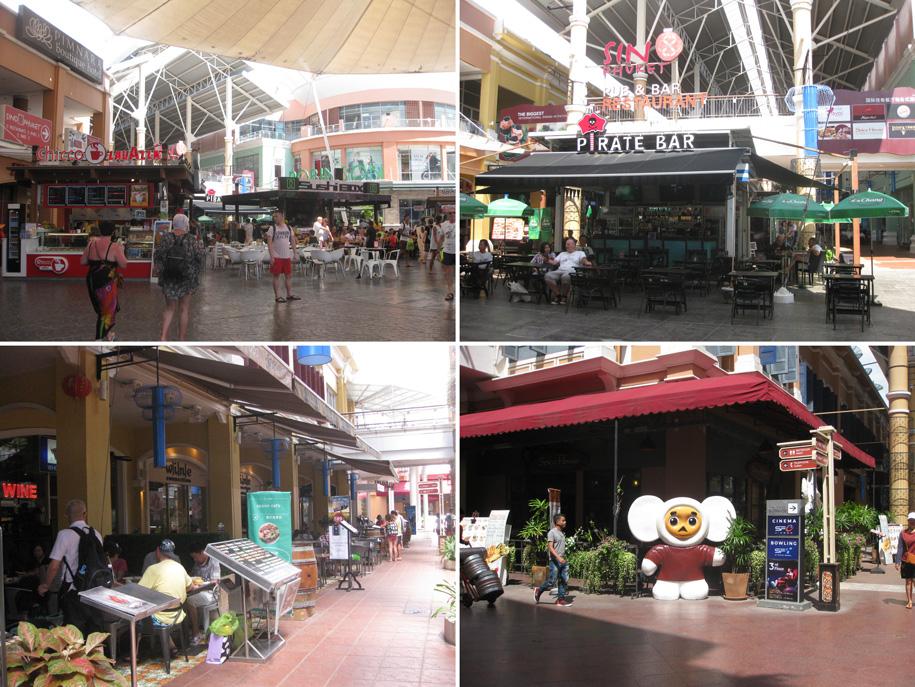 Зона общепита в торговом центре Jungceylon, Патонг