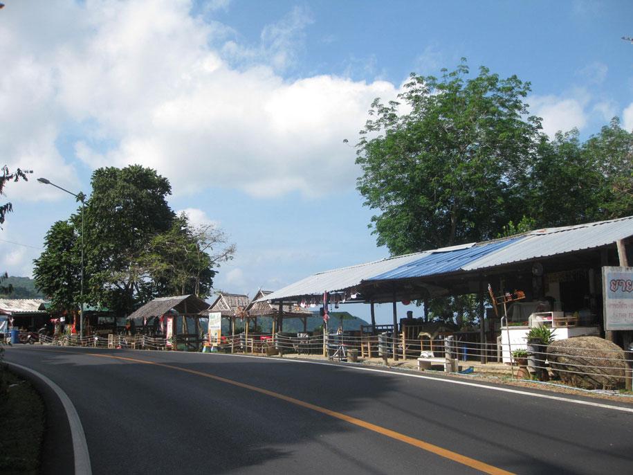 Дорога до смотровой площадки Karon View Point