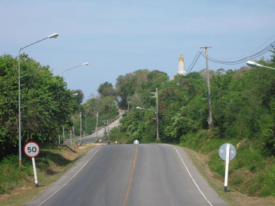 Дорога до мыса Промтеп