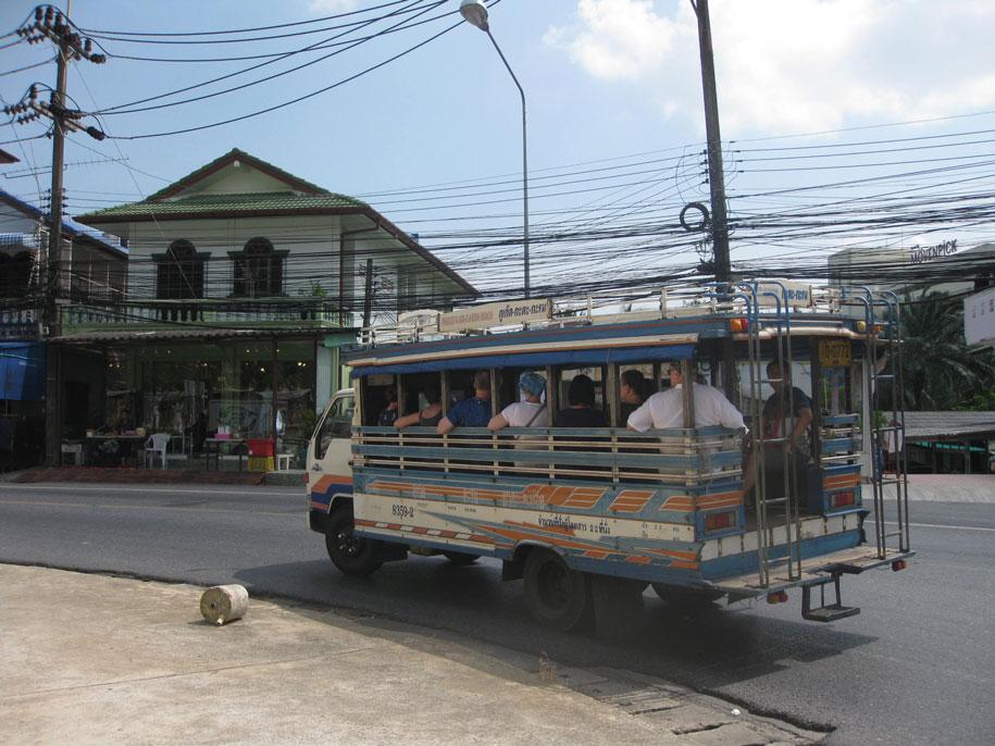Автобусы Пхукета, сонгтео