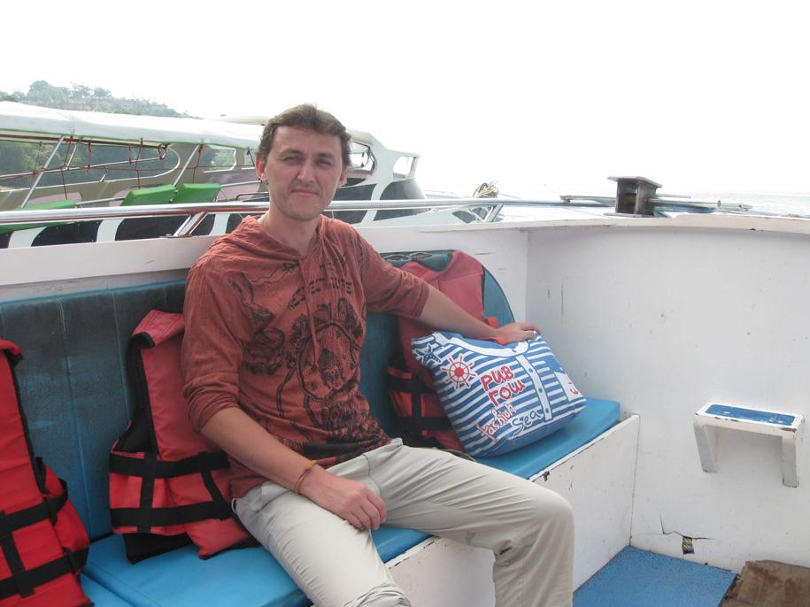 Экскурсия на острова Пхи-Пхи, отправление катера