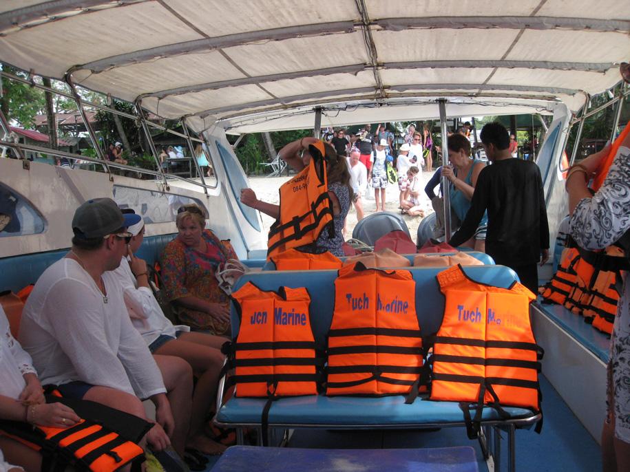 Экскурсия на острова Пхи-Пхи, Таиланд