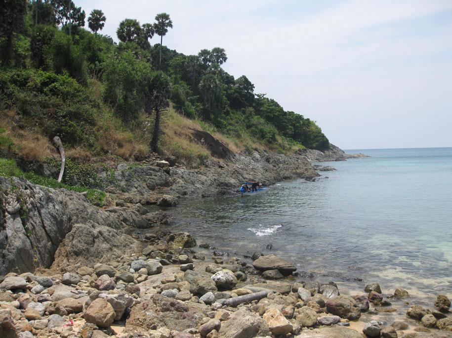 Южная часть пляжа Януй, Пхукет