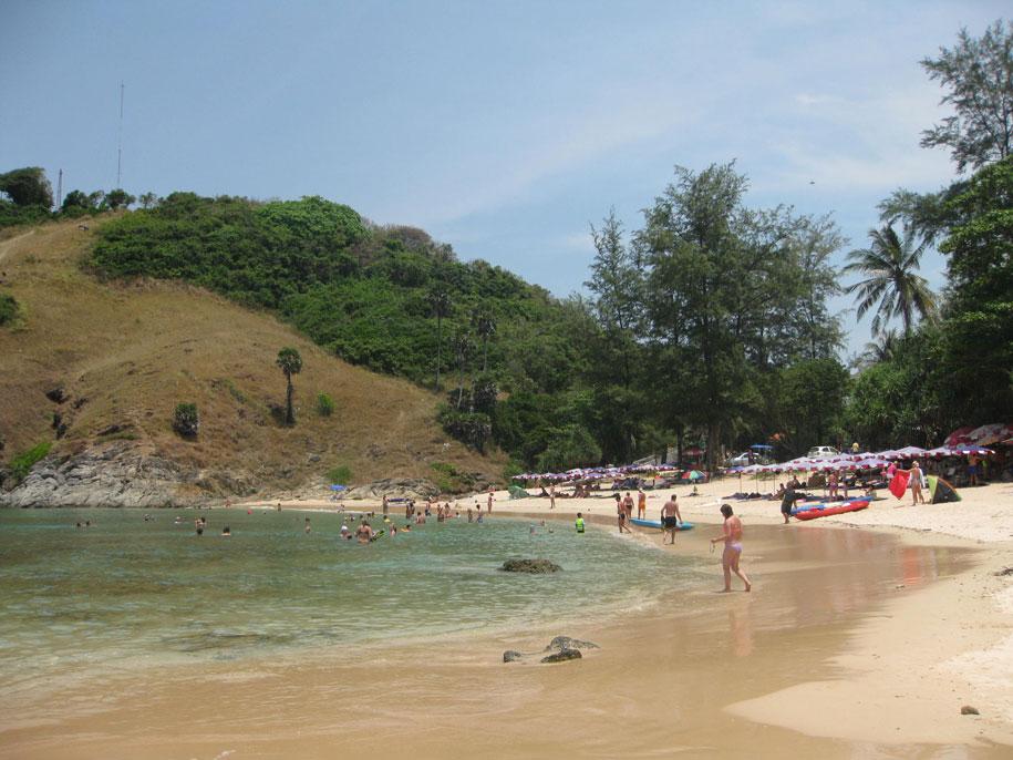 Северная часть пляжа Януй