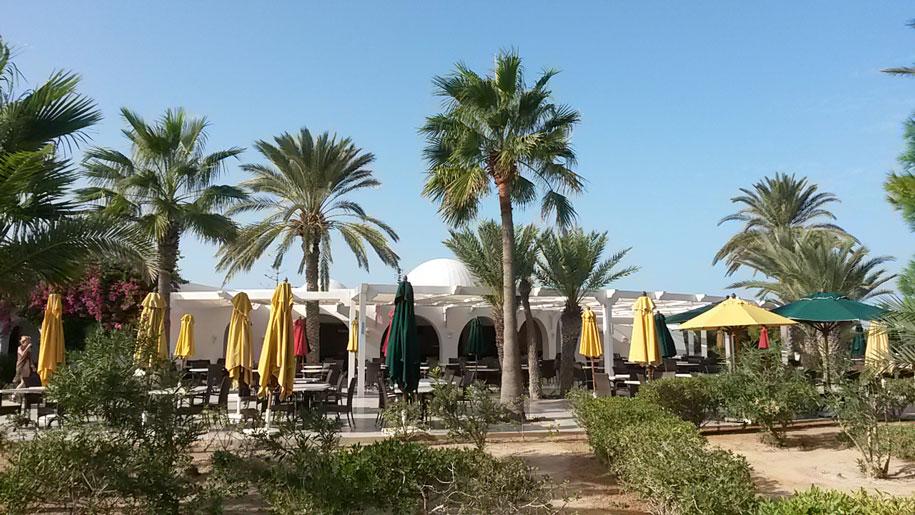 Ресторан шведский стол в отеле Джерба Плаза, Тунис