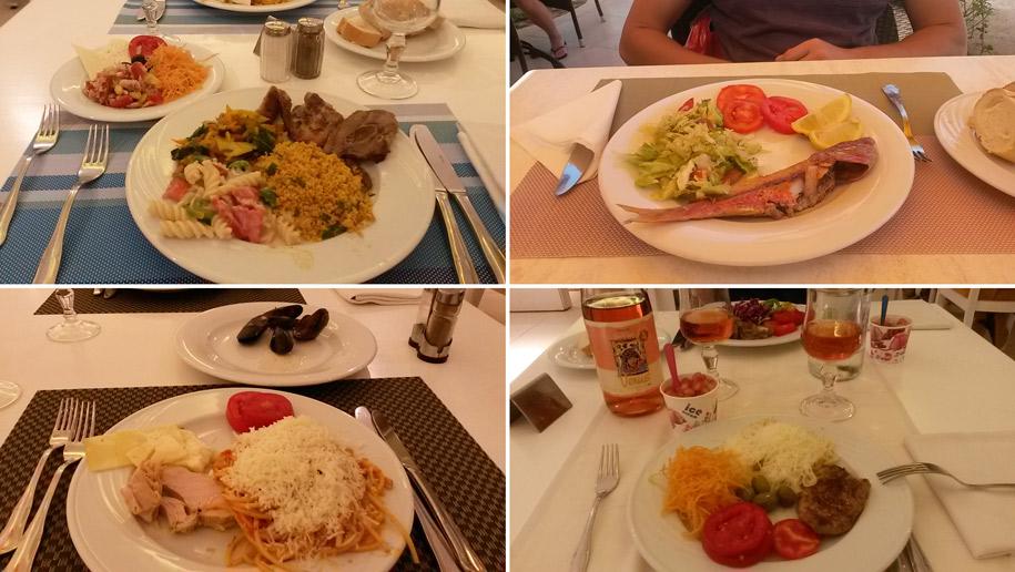 Еда в отеле Джерба Плаза, Тунис