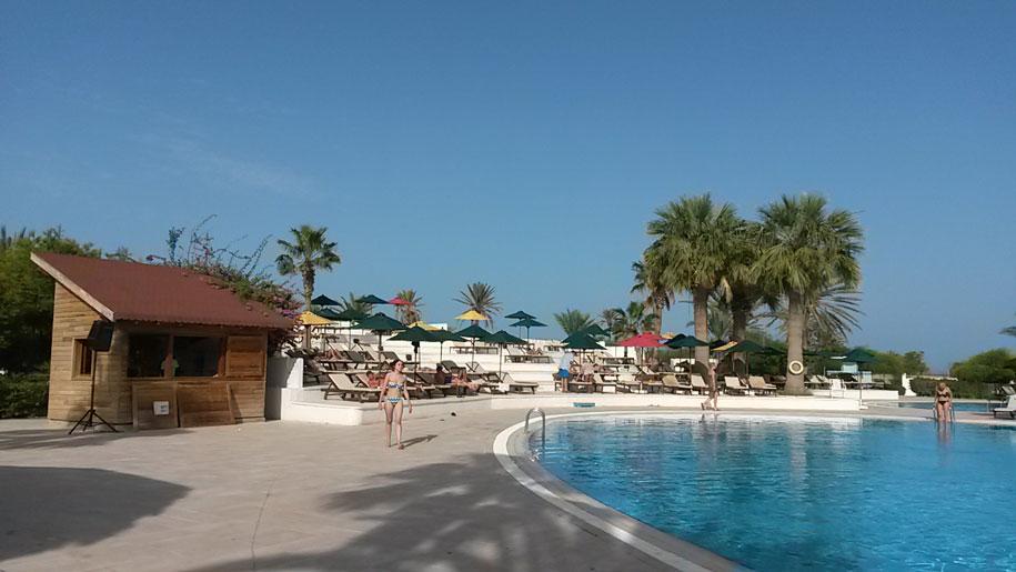 Территория отеля Джерба Плаза, Тунис
