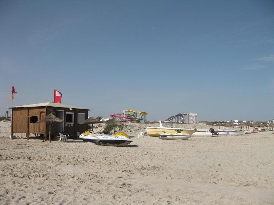 Водные развлечения, отель Джерба Плаза, Тунис