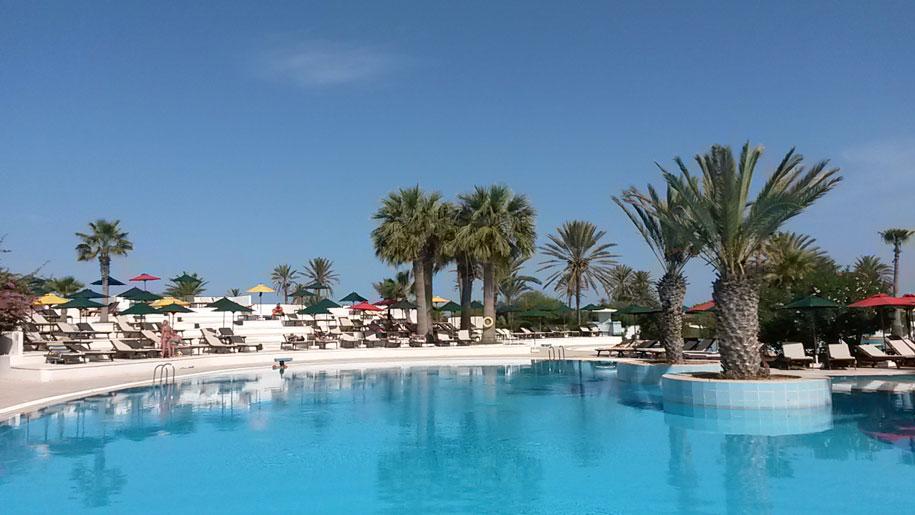 Бассейн отеля Джерба Плаза, остров Джерба, Тунис