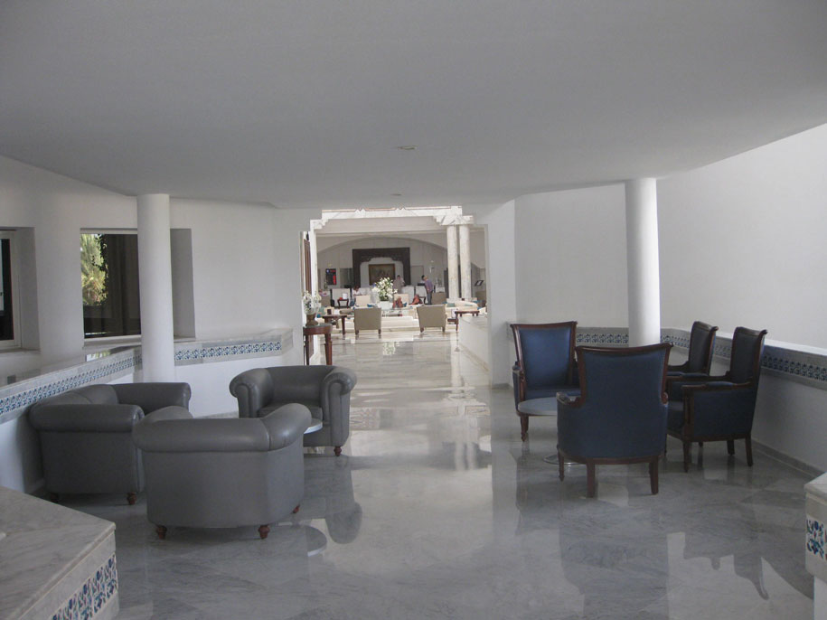 Интерьер в отеле Джерба Плаза, Тунис