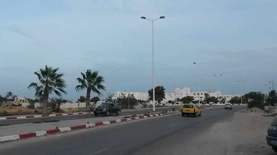 Возле отеля Джерба Плаза, Тунис