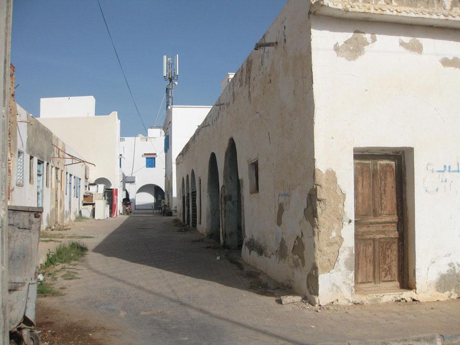 Улицы острова Джерба, Тунис
