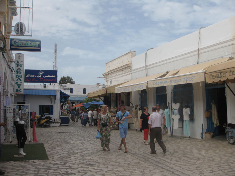 Рынок на острове Джерба
