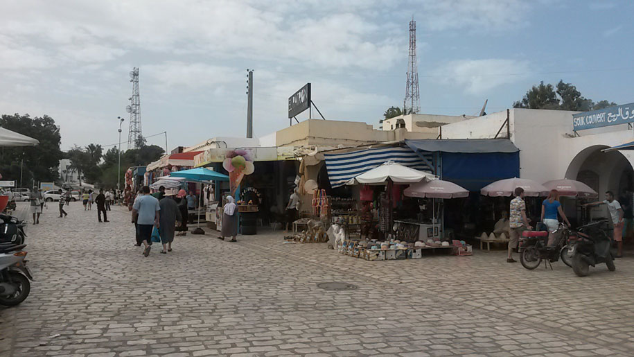 Хумт-Сук, столица острова Джерба, Тунис