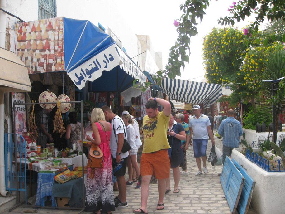 Достопримечательности острова Джерба - базар Хумт-Сук