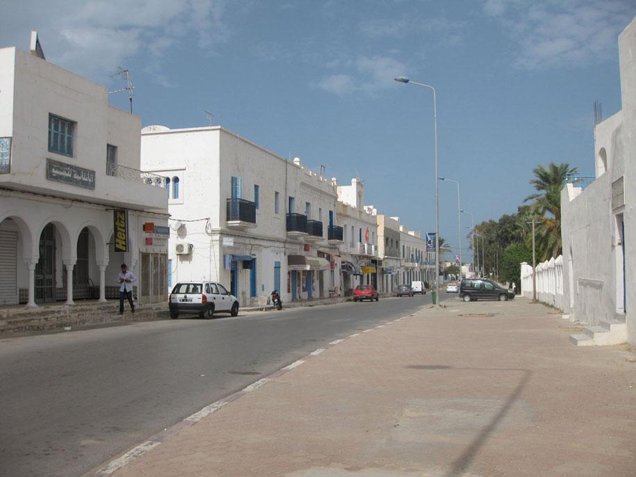 Улицы Хумт-Сук, остров Джерба, Тунис