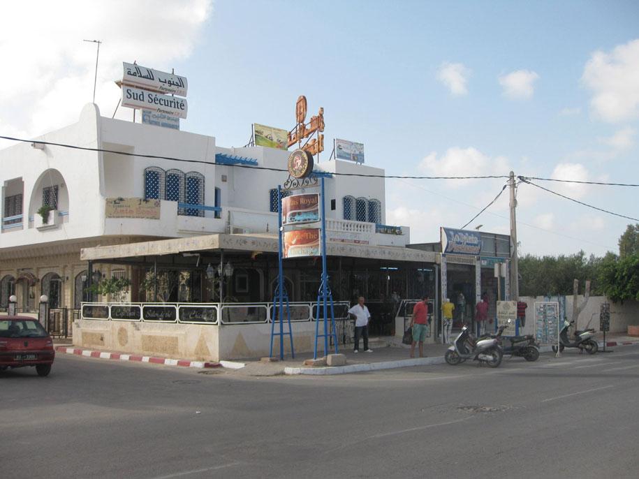 Кафе на острове Джерба, Тунис