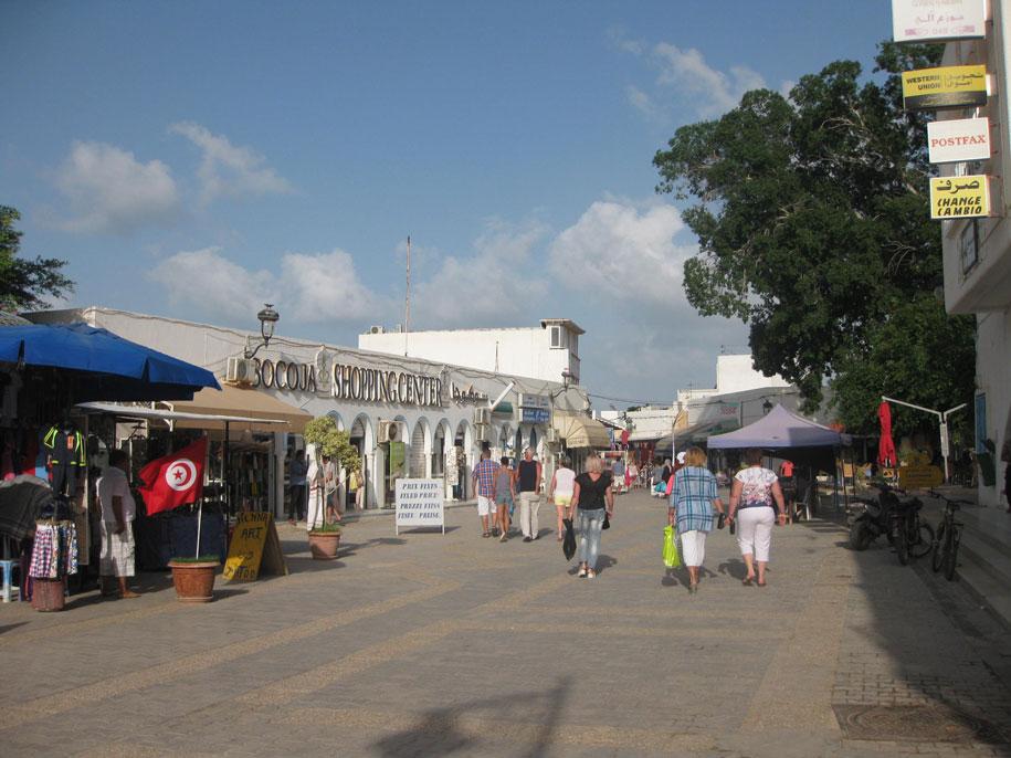 Достопримечательности острова Джерба - рынок города Мидун