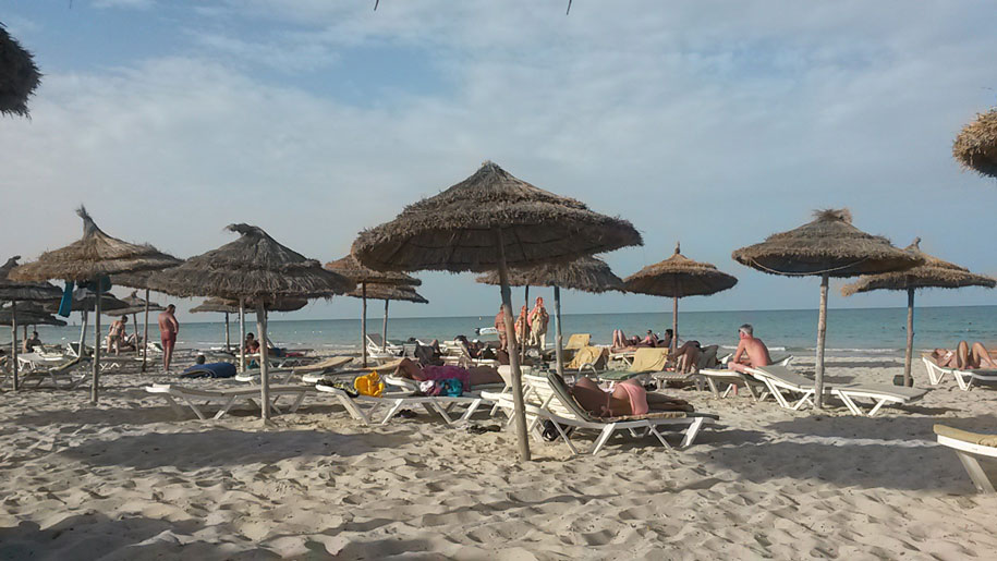 Пляж острова Джерба, Тунис