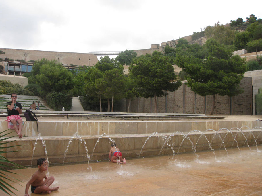 Парк де ла Ерета в Аликанте