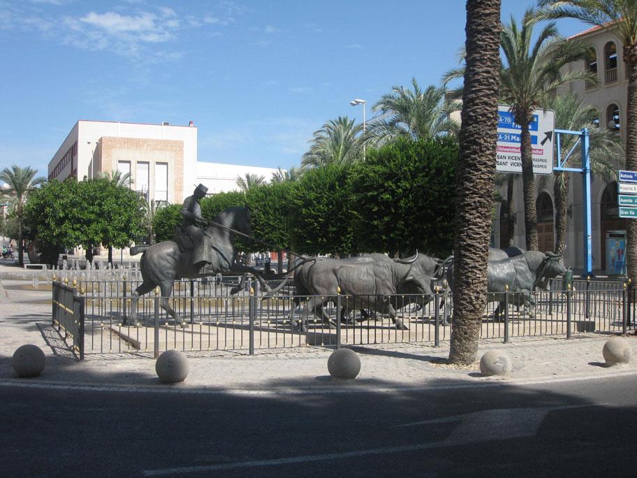 Площадь Испании, Аликанте