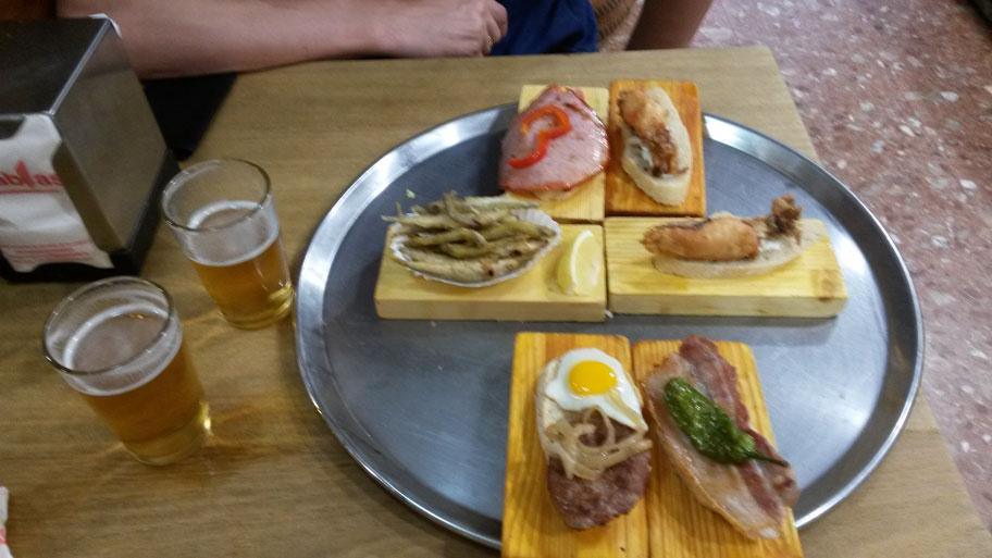 Блюда Аликанте - Тапас