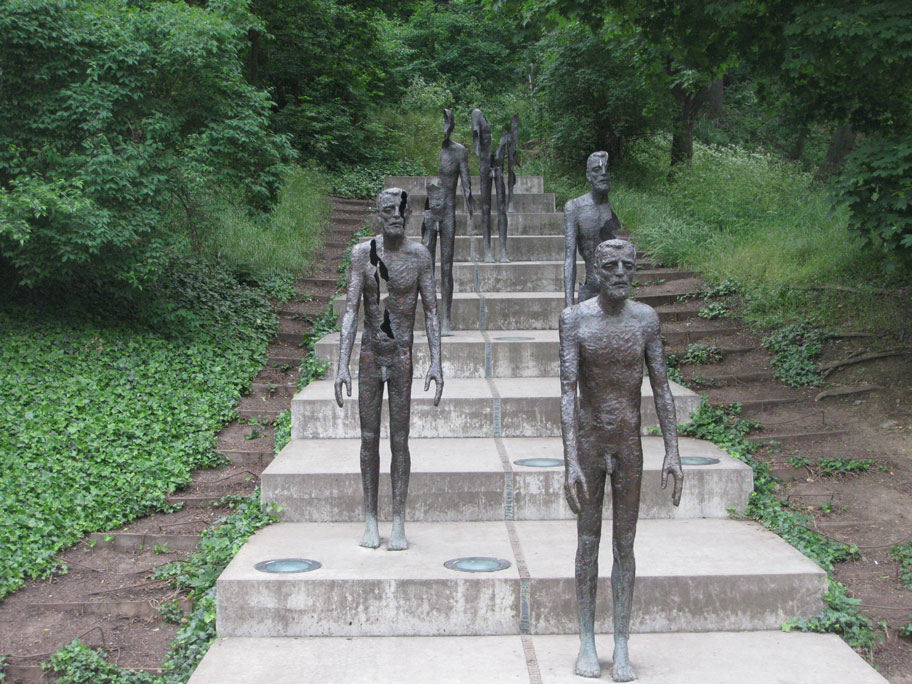 Достопримечательности Праги - памятник жертвам коммунизма