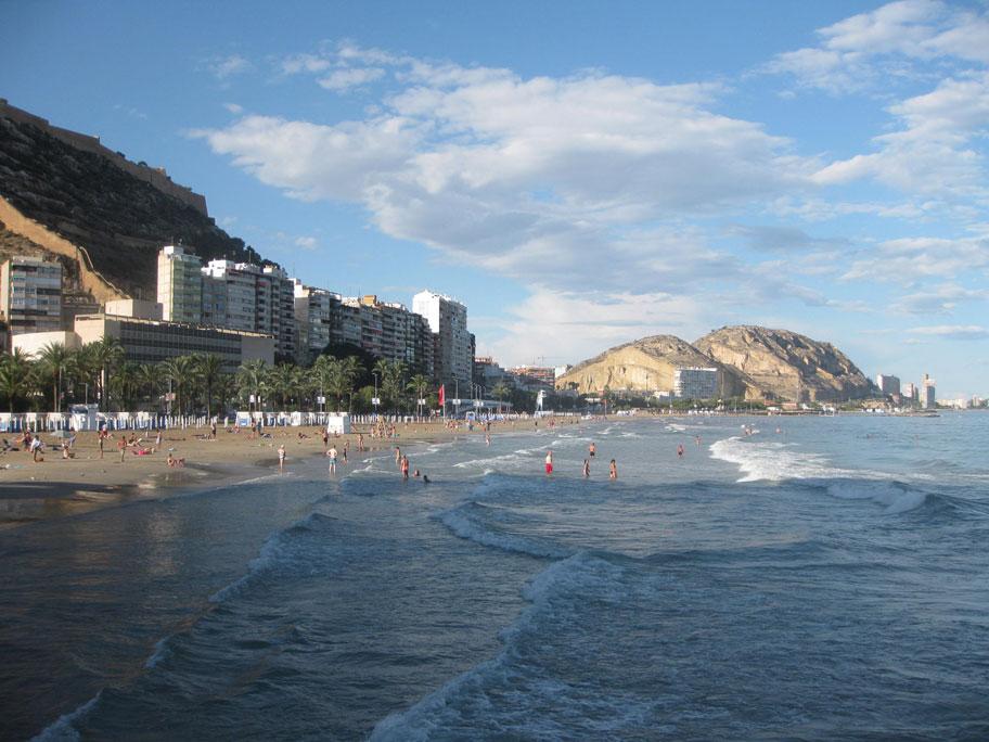 Испания пляж аликанте