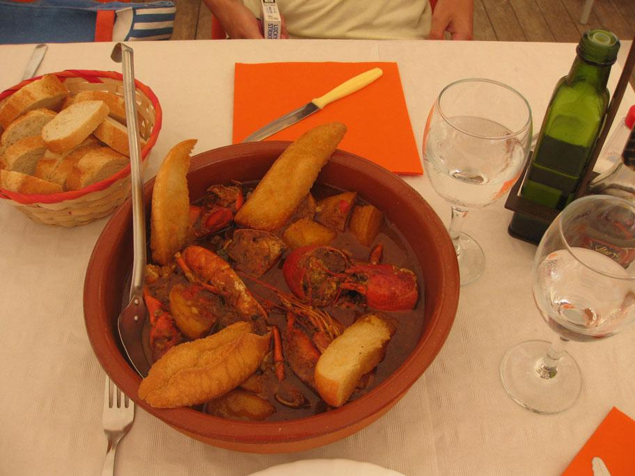 Блюда Аликанте - Кальдера