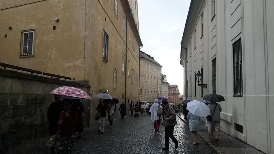 центральная улица Пражского града - Jirska