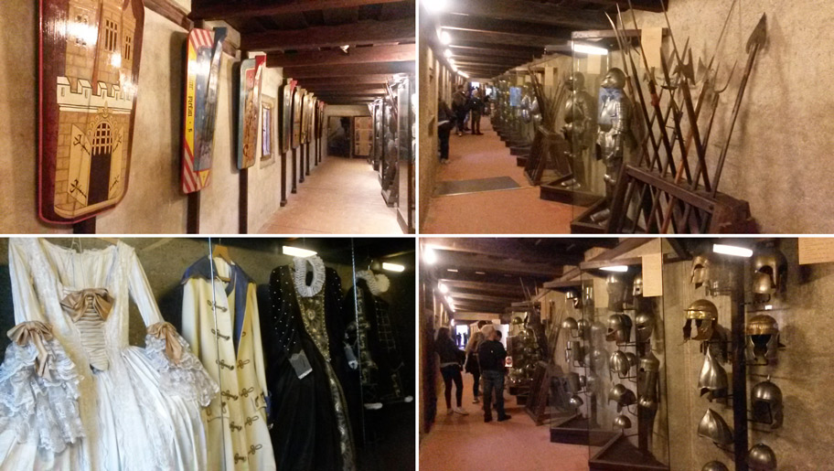 музей оружия и доспехов на Золотой улочке