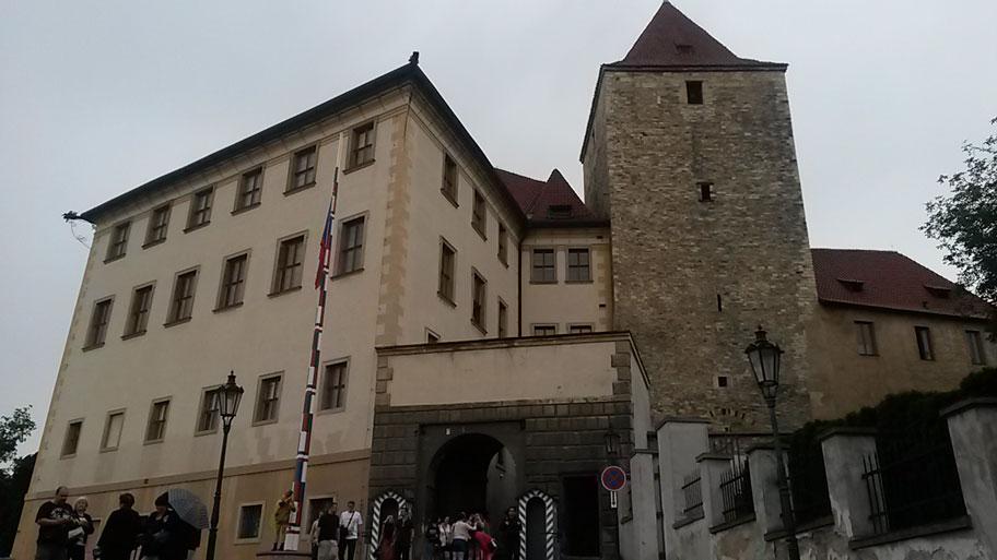 Восточные ворота и Черная башня, Пражский Град