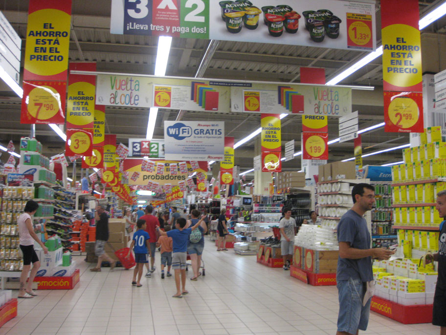 Супермаркет в Плаза Мар 2