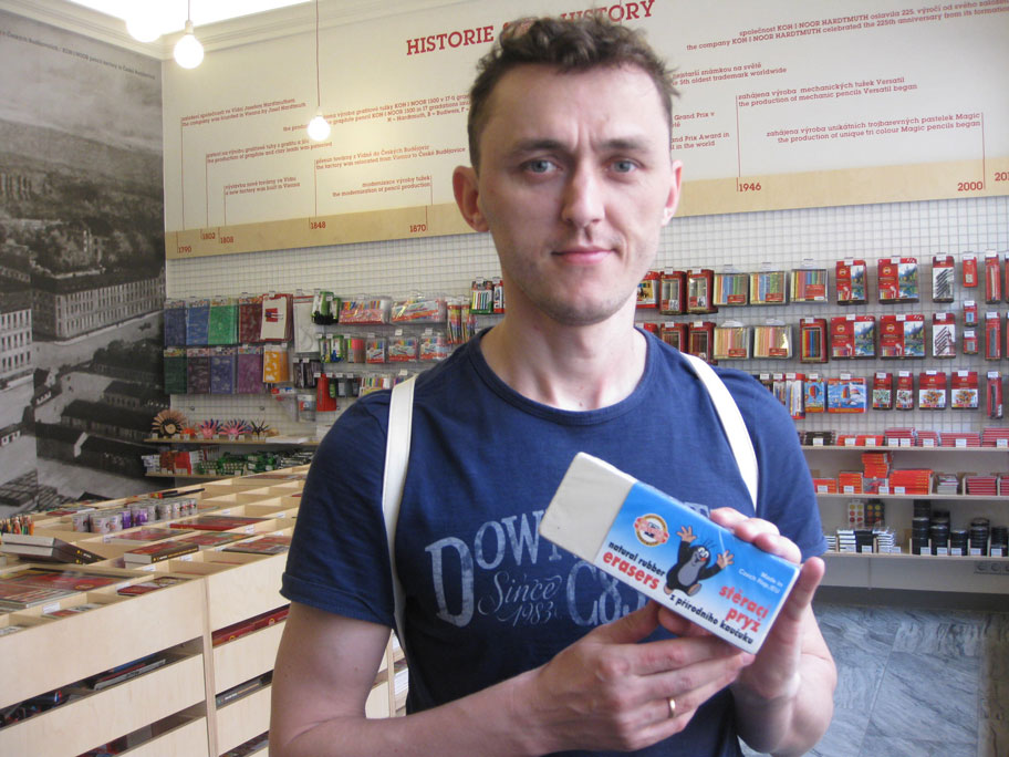 карандаши в Чехии