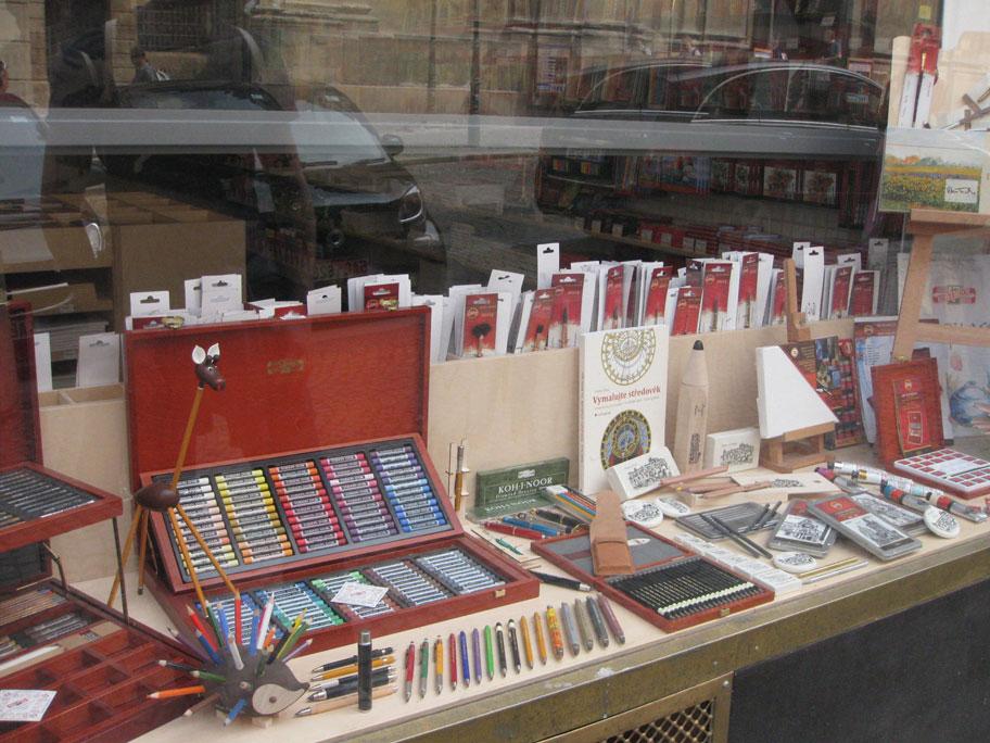 чешские карандаши в Праге