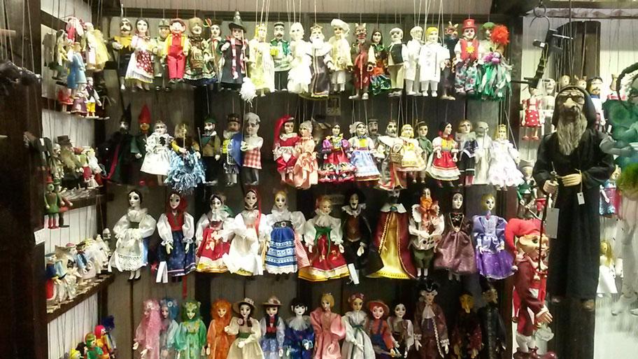 чешские куклы-марионетки