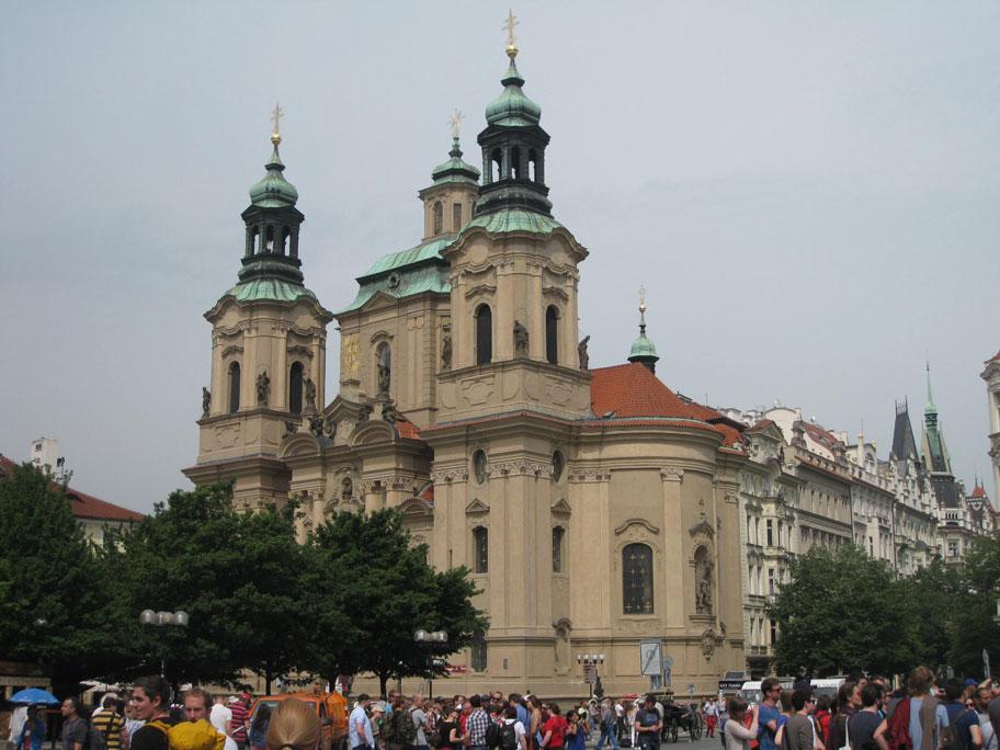 Достопримечательности Праги - Собор Святого Николая