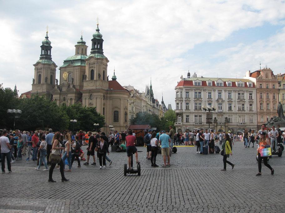 Достопримечательности Праги - Староместская площадь
