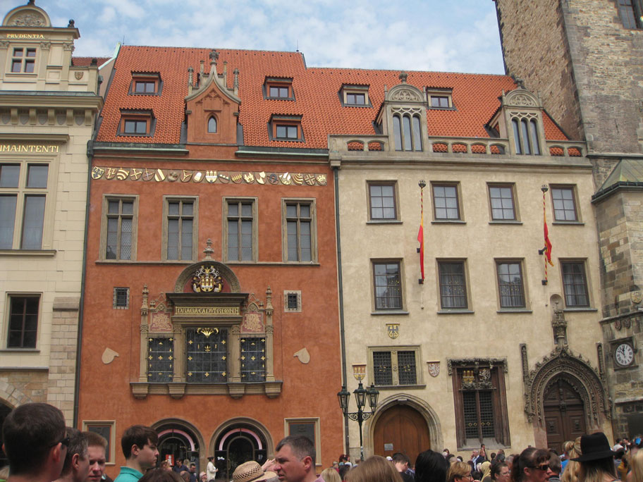 Достопримечательности Праги - памятники архитектуры на Староместской площади